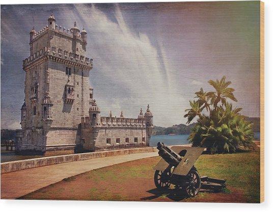 Torre De Belem Lisbon Wood Print