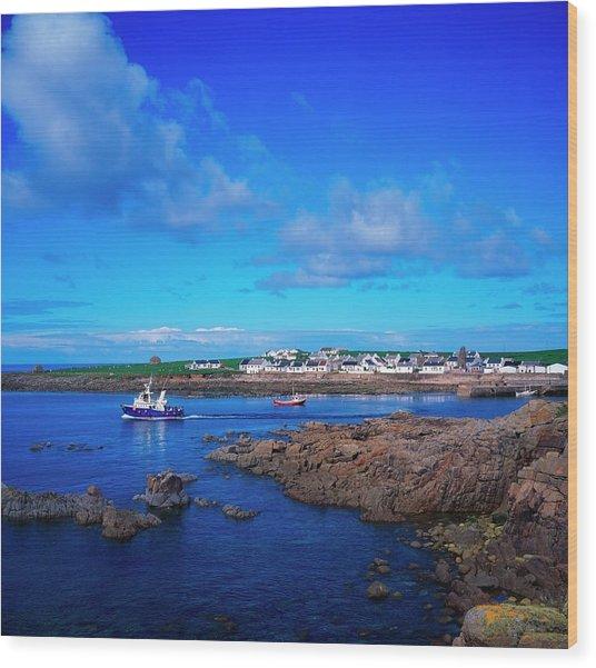 Tory Island Ferry, Co Donegal, Ireland Wood Print