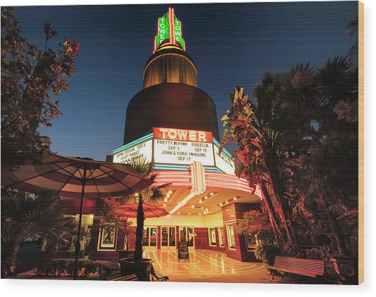 Tower Theater- Wood Print