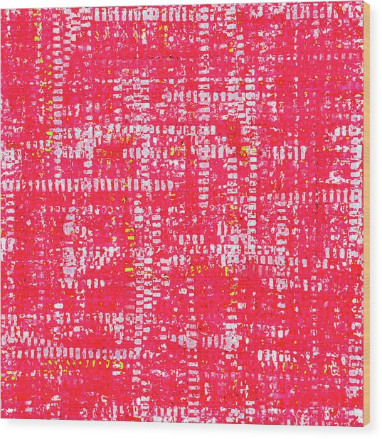 Mosaic Tapestry 1 Wood Print