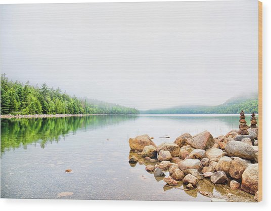 Tranquility Wood Print by Zev Steinhardt