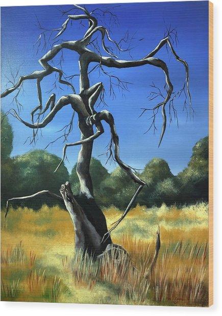 Tree 3 Wood Print