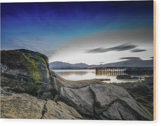 Tromso Wood Print