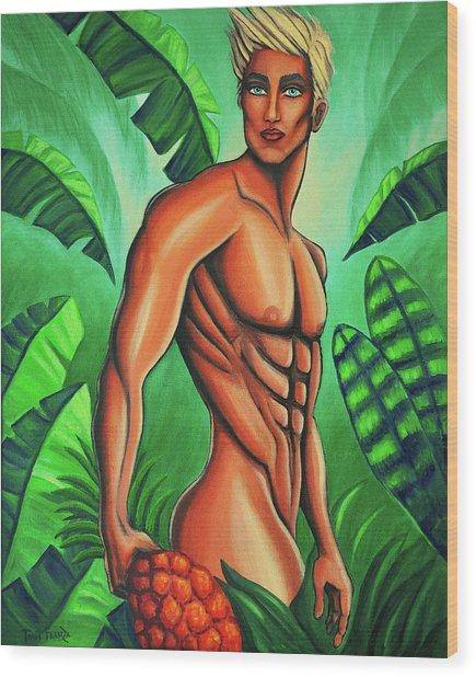 Tropic Beauty Wood Print
