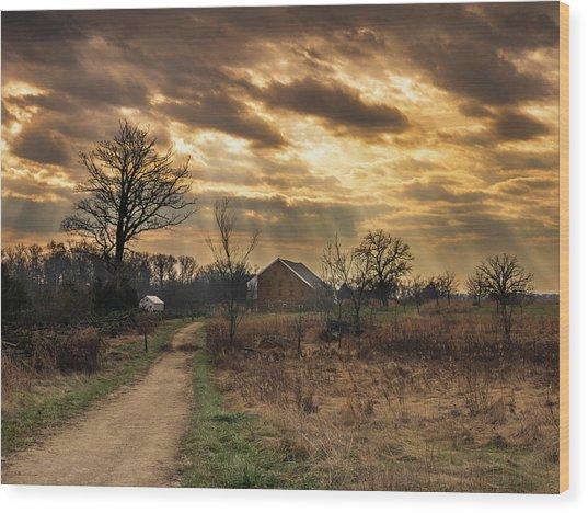 Trostle Sky Wood Print