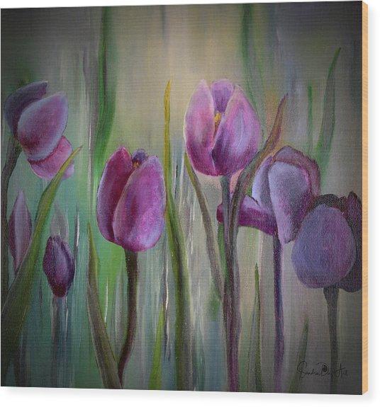 Tulip Passion Wood Print