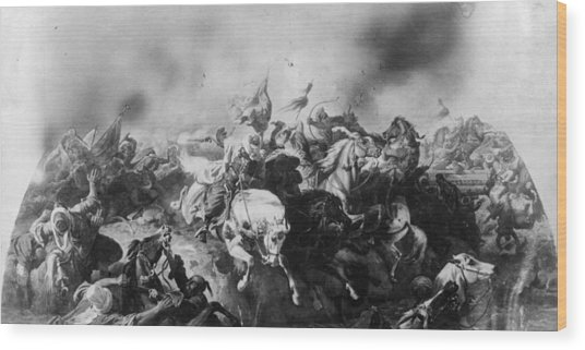 Turkish Defeat Wood Print by Hulton Archive