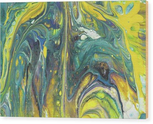 Twilight Spark Wood Print