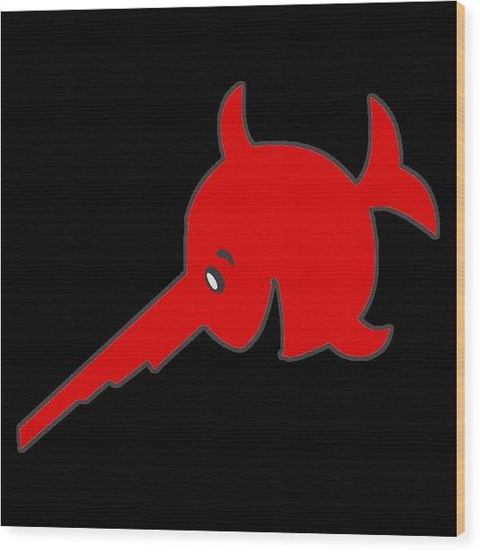 Uboat Swordfish Wood Print