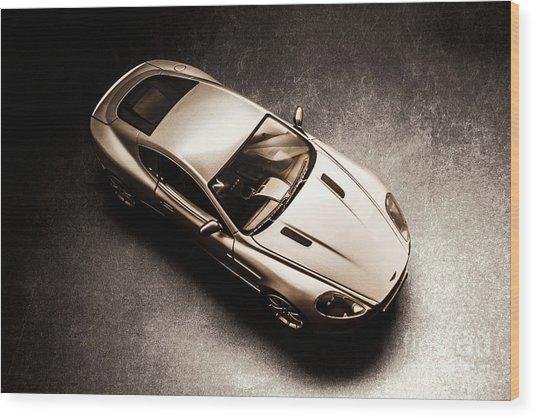 Underground Racer Wood Print