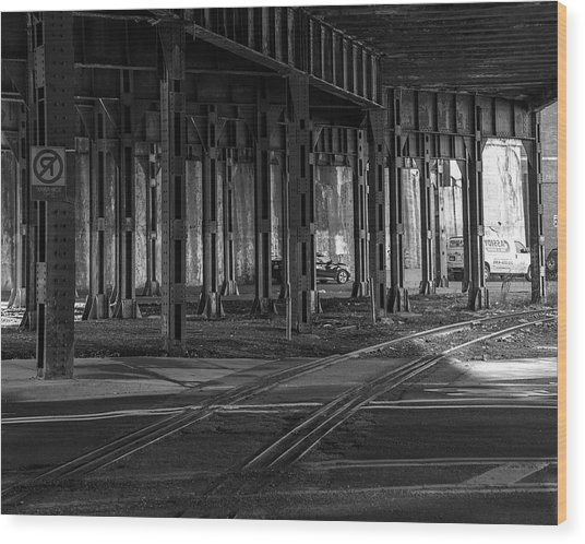 Underway Wood Print