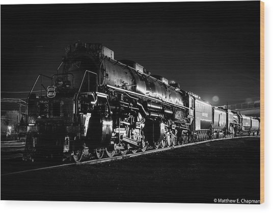Wood Print featuring the photograph Union Pacific Big Boy by Matthew Chapman