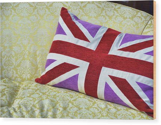 Union Royal Flag Wood Print by JAMART Photography