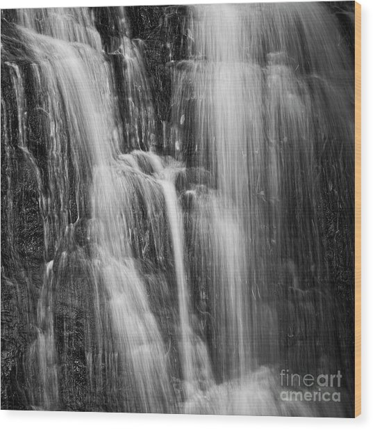 Wood Print featuring the photograph Upper Cascade by Patrick M Lynch
