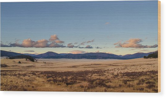 Valles Caldera National Preserve Wood Print