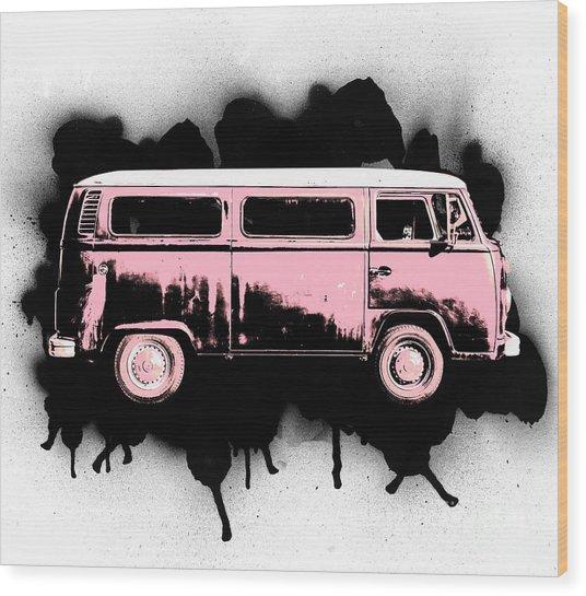 Van Go Wood Print