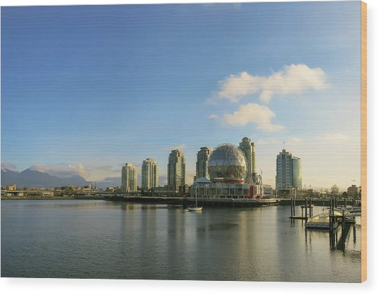 Vancouver Science World Wood Print
