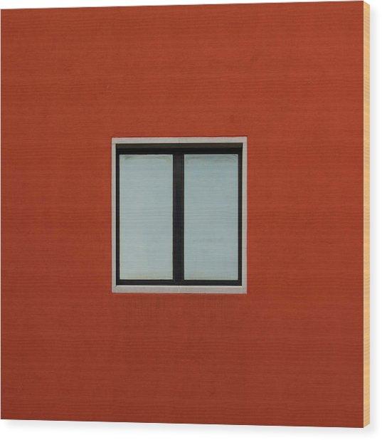 Verona Windows 2 Wood Print