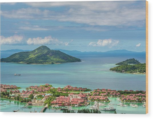 Victoria, Mahe, Republic Of Seychelles Wood Print