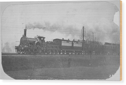 Victorian Express Wood Print by Hulton Archive