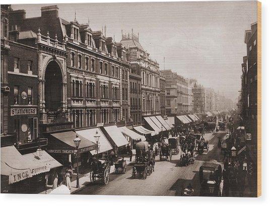 Victorian London Wood Print by London Stereoscopic Company