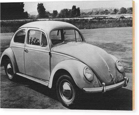 Volkswagen Wood Print by Thurston Hopkins