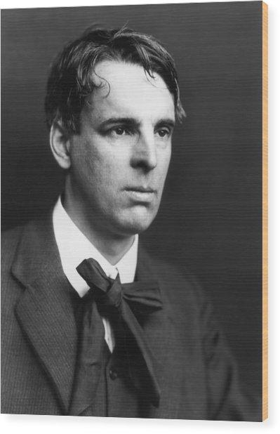 W B Yeats Wood Print by George C. Beresford