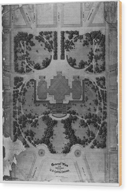 Washington Dc Wood Print by Fotosearch