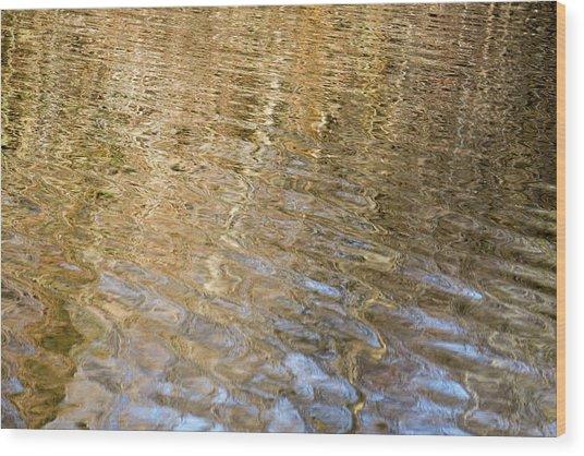 Water Reflection_751_18 Wood Print