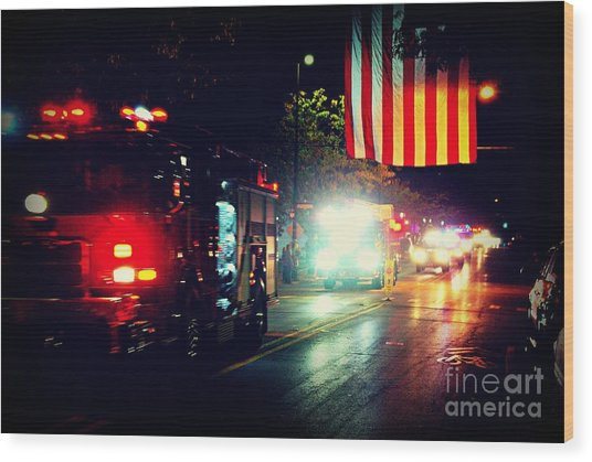 We Remember 9/11 Wood Print
