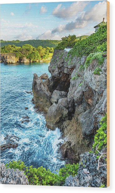Welcome To Portland Jamaica Wood Print