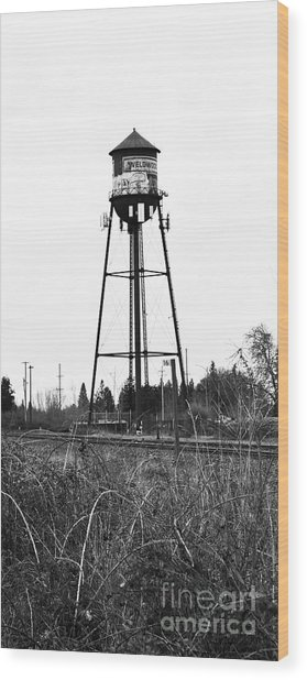 Weldwood Water Tower Wood Print