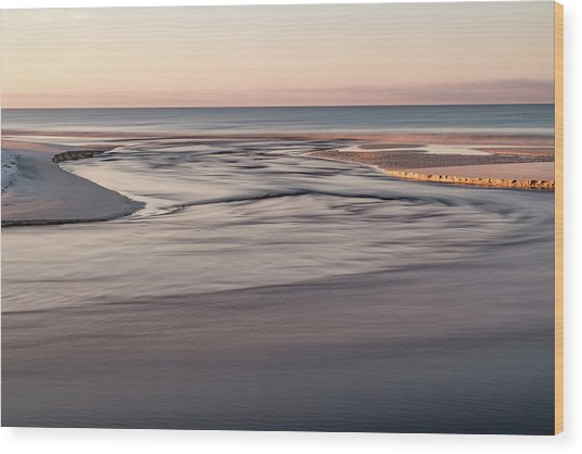 Western Lake Outfall #8 Wood Print