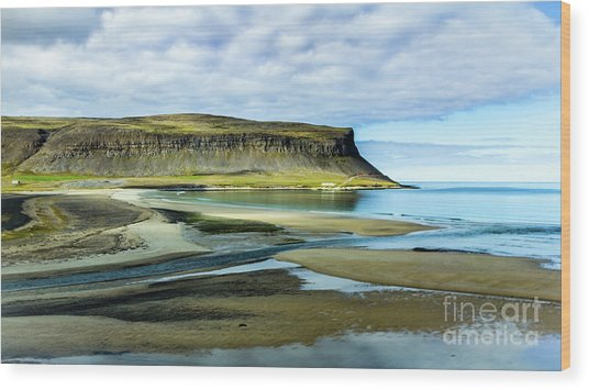 Westfjords, Iceland Wood Print