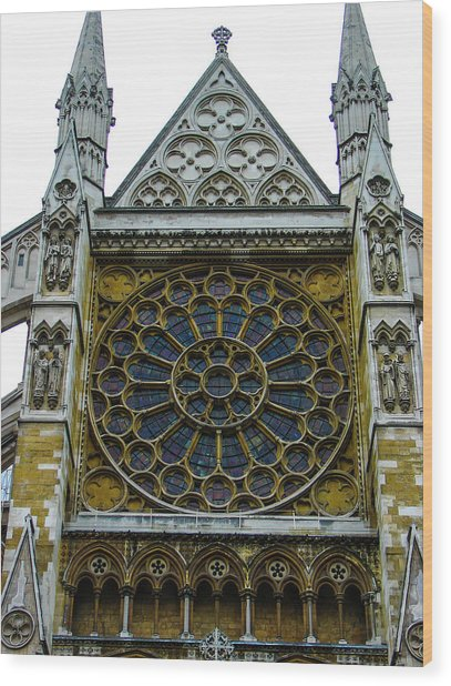 Westminster Abbey 2 Wood Print