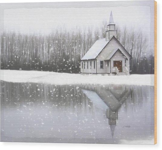 Where Hope Grows - Hope Valley Art Wood Print