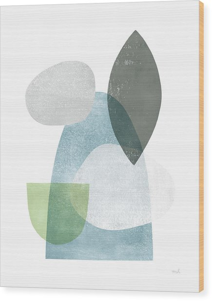 Whispers I Wood Print by Moira Hershey