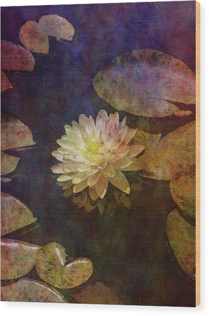 White Lotus Lily Pond 2938 Idp_2 Wood Print