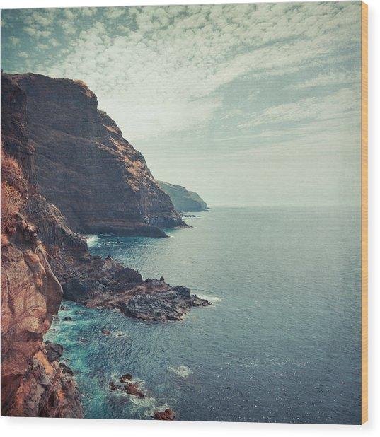 Wild Coast La Palma II Wood Print