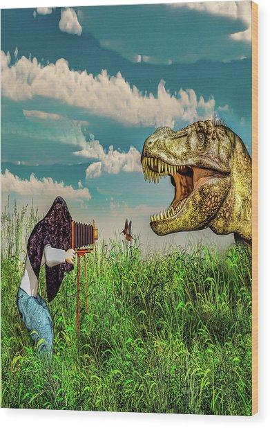 Wildlife Photographer  Wood Print