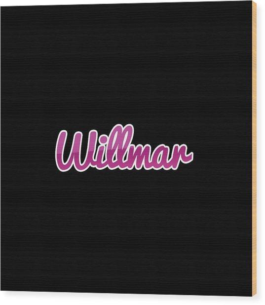 Willmar #willmar Wood Print