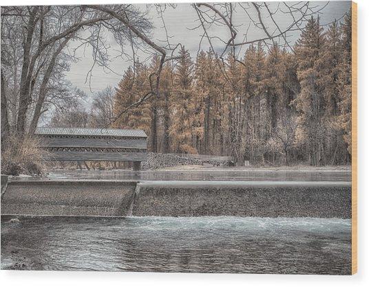 Winter Sachs Wood Print