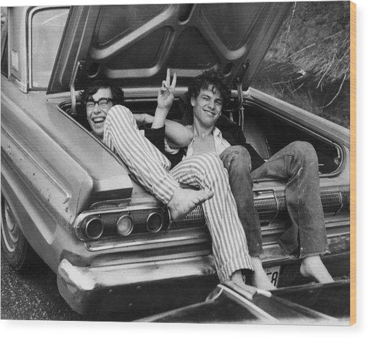 Woodstock Hitchers Wood Print