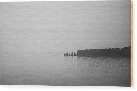 Quiet Moment Wood Print