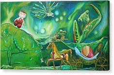 Cabbage Patch Doll Paintings Acrylic Prints