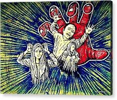 Massacre. People. Deprived Of Liberty Acrylic Prints