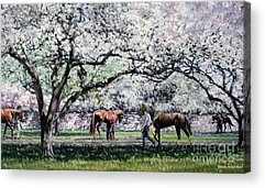 Thoroughbred Racing Acrylic Prints