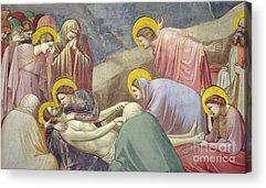 St John Of The Ladder Acrylic Prints