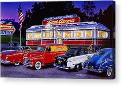 Trolley Car Acrylic Prints