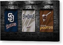 San Diego Padres Stadium Acrylic Prints